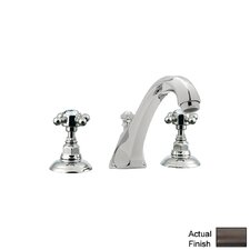 Country Double Handle Bath Tub Filler Faucet with Cross Handle by Rohl
