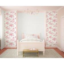 Princess 10m L x 52cm W Toile Roll Wallpaper