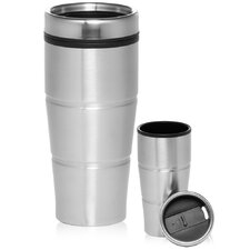 Viking 2 Piece 16 Oz. Double Insulated Stainless Steel Travel Mug