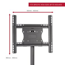 """Stationary Floor Mount for 26""""- 50"""" Flat Panel Screens"""