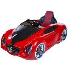 Futuristic 12V Battery Powered Sports Car