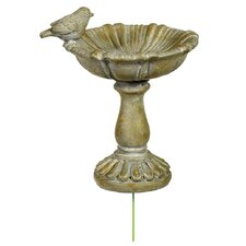 Perched Bird Birdbath (Set of 3)