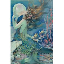 'The Mermaid' by Henry O'Hara Clive Painting Print
