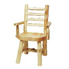 Traditional Cedar Log Armchair