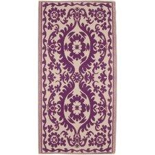 Decorative Purple Area Rug