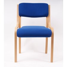 Bentley Armless Stacking Chair with Cushion