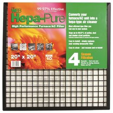 Hepa Pure High Performance Furnace / AC Air Conditioner Air Filter