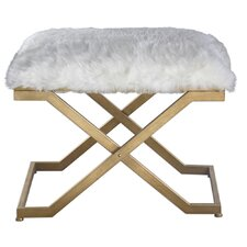 Simmons Casegoods Keener Fur Bench by Mercer41™