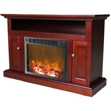"Sorrento 16"" TV Stand with Electric Fireplace"