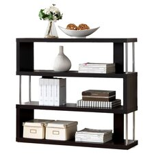 Baxton Studio Javier 3-Tier 38 Accent Shelves Bookcase by Wholesale Interiors