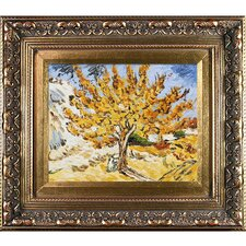 The Mulberry Tree by Vincent Van Gogh Framed Painting