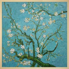 Branches of an Almond Tree by Vincent Van Gogh Framed Painting