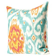 Bettembourg Ikat Cotton Throw Cushion