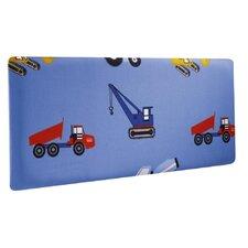 Toy Trucks Single Panel Headboard