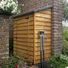 4 Ft. W x 2 Ft. D Wooden Lean-To Shed