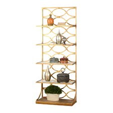 Lashaya 80 Accent Shelves Bookcase by Uttermost