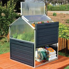 1.2m W x 1.2m D Mini Greenhouse