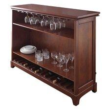 Martinez Bar with Wine Storage
