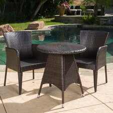 Keely 3 Piece Dining Set