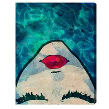 Watercoveted Graphic Art Print on Canvas