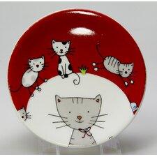 "Teebeutelablage ""Globetrotter"" in Cat-Dekor"