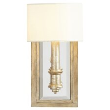 Abingdon 1-Light Wall Sconce in Aubergine