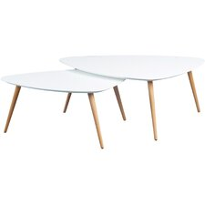 Cacto 2 Piece Niko Coffee Table Set