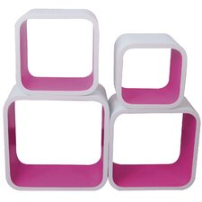 Cubic Bookshelves (Set of 4)