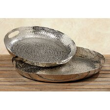 Serena 2 Piece Decorative Tray Set
