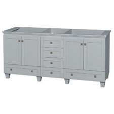 Acclaim 72 Double Bathroom Vanity Base by Wyndham Collection
