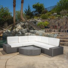 Mathieson 6 Piece Deep Seating Group with Cushion by Brayden Studio®