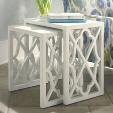 Ivory Key Nesting Tables by Tommy Bahama Home