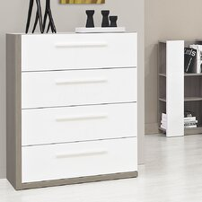 Faro 4 Drawer Chest of Drawers