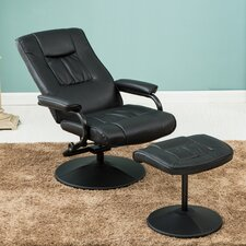 Nashville Swivel Recliner and Footstool