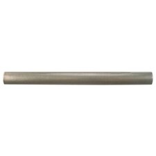 "Milton 6"" x 0.63"" Pencil Tile Trim in Brushed Nickel (Set of 30)"