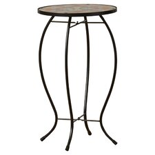 Sawyerville Floral Side Table by Charlton Home