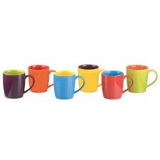 6 Piece Cappuccino Mug Set