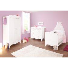 4-tlg. Babyzimmer-Set Lea