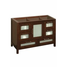 Athena 48 Bathroom Vanity Base Cabinet in Dark Cherry by Ronbow