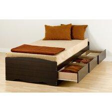 Mates Twin Storage Platform Bed by Prepac