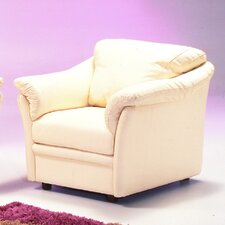Salerno Leather Club Chair by Omnia Leather