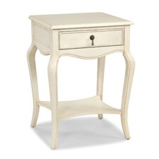 Blanc End Table by HeatherBrooke Furniture