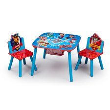 Nick Jr. Kids 3 Piece PAW Patrol Table and Chair Set by Delta Children