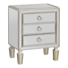Paula 3 Drawer Chest by House of Hampton