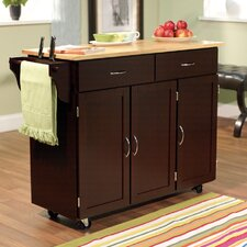 sayers kitchen island with wood top - Picture Of Kitchen Islands