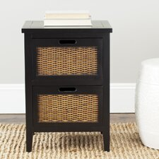 St. Leo 2 Drawer Nightstand by Beachcrest Home