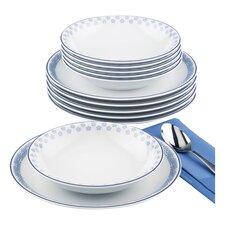 Compact 12-Piece Dinnerware Set