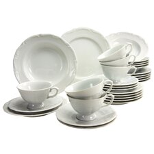 Maria Theresia 30 Piece Dinnerware Set, Service for 6