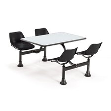 """Group/Cluster Table and Chairs 65"""" x 48"""" Picnic Table"""