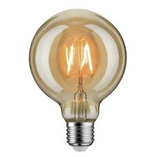 LED-Globelampe E27 2,5W in Gold